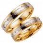 TURIN 5 R/V Förlovningsring Vigselring TURIN 5  R/V   Schalins Schalins ringar 5,460.00