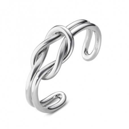 Georg Jensen Love Knot double bangle 10003033-35 Georg Jensen Hem 4,975.00