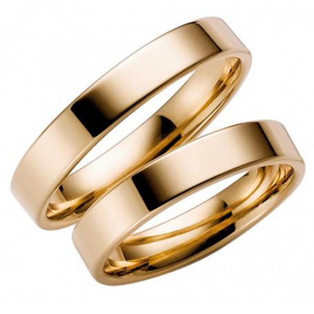 14K238-4 Förlovningsring Vigselring  14K238-4 Schalins Schalins ringar 2,910.00