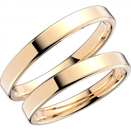 238-3 Förlovningsring Vigselring  238-3 Schalins Schalins ringar 3,096.00