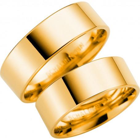 14K238-7 Förlovningsring Vigselring  14K238-7 Schalins Schalins ringar 4,770.00