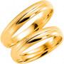 14K255-4 Förlovningsring Vigselring  14K255-4 Schalins Schalins ringar 2,499.00