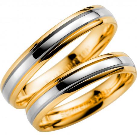 14K257-4 R/V Förlovningsring Vigselring  14K257-4  R/V Schalins Schalins ringar 3,238.00