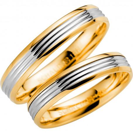 14K260-4 R/V Förlovningsring Vigselring  14K260-4  R/V Schalins Schalins ringar 3,038.00