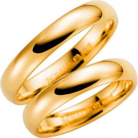 14K273-4 Förlovningsring Vigselring  14K273-4 Schalins Schalins ringar 2,960.00