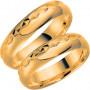 14K287-5 Förlovningsring Vigselring  14K287-5 Schalins Schalins ringar 3,147.00