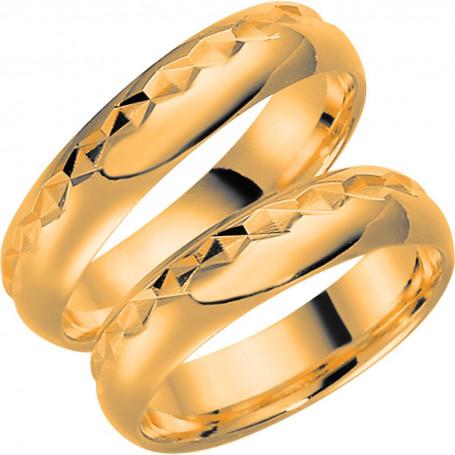 9K287-5 Förlovningsring Vigselring  9K287-5 Schalins Schalins ringar 1,906.00