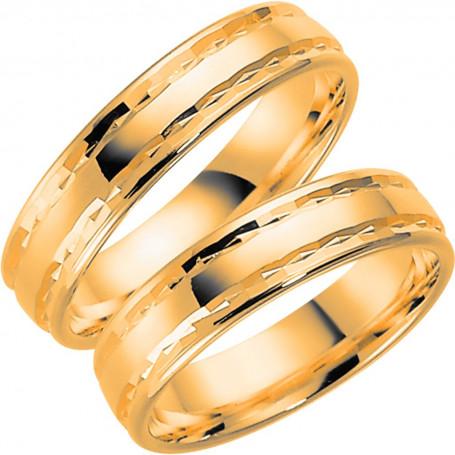 9K288-5 Förlovningsring Vigselring  9K288-5 Schalins Schalins ringar 2,100.00