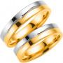 14K290-5 R/V Förlovningsring Vigselring  14K290-5  R/V Schalins Schalins ringar 5,139.00