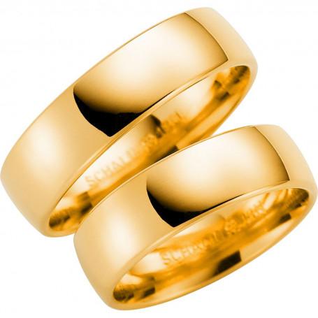 14K720-6 Förlovningsring Vigselring  14K720-6 Schalins Schalins ringar 4,157.00