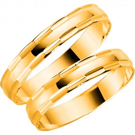 14K1010-3,5 Förlovningsring Vigselring  14K1010-3,5 Schalins Schalins ringar 1,352.00