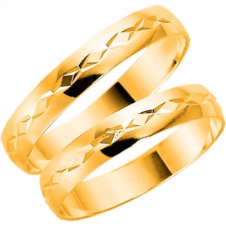 9K1011-3,5 Förlovningsring Vigselring  9K1011-3,5 Schalins Schalins ringar 909,00kr