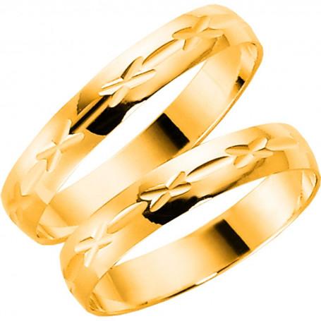 9K1014-3,5 Förlovningsring Vigselring  9K1014-3,5 Schalins Schalins ringar 909,00kr