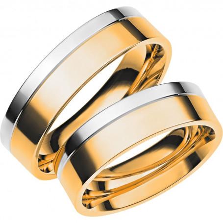PISA R/V Förlovningsring Vigselring PISA R/V Schalins Schalins ringar 7,740.00