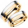 SPLIT R/V Förlovningsring Vigselring SPLIT R/V Schalins Schalins ringar 7,455.00