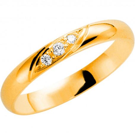 14K 203-3 4.3 Förlovningsring Vigselring  14K 203-3 4.3 Schalins Schalins ringar 3,104.00