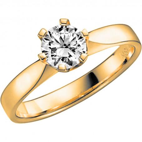 14K DONAU 0,75 ct Förlovningsring Vigselring 14K DONAU 0,75 ct Schalins Schalins ringar 43,219.00