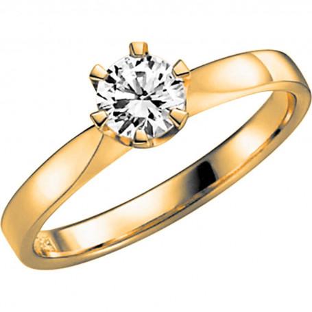 14K DONAU 0,50 ct Förlovningsring Vigselring 14K DONAU 0,50 ct Schalins Schalins ringar 27,723.00