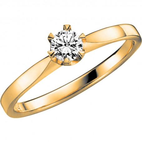 14K DONAU 0,25 ct Förlovningsring Vigselring  14K DONAU 0,25 ct Schalins Schalins ringar 11,241.00