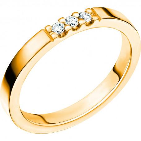 LYCKA 0,09 Förlovningsring Vigselring  LYCKA 0,09 Schalins Schalins ringar 5,006.00
