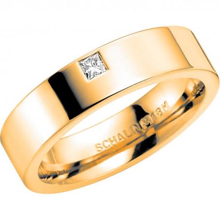 NO.4 Förlovningsring Vigselring  NO.4 Schalins Schalins ringar 12,088.00