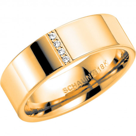 NO.5 Förlovningsring Vigselring  NO.5 Schalins Schalins ringar 9,377.00