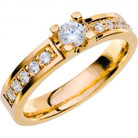 14K SOLVIND Förlovningsring Vigselring 14K SOLVIND Schalins Schalins ringar 14,802.00