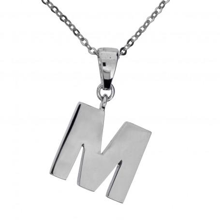 Halsband stor bokstav M 1-25-0038  Halsband 36cm till 50cm 469,00kr