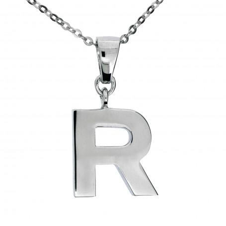 Halsband stor bokstav R 1-25-0043  Halsband 36cm till 50cm 469,00kr