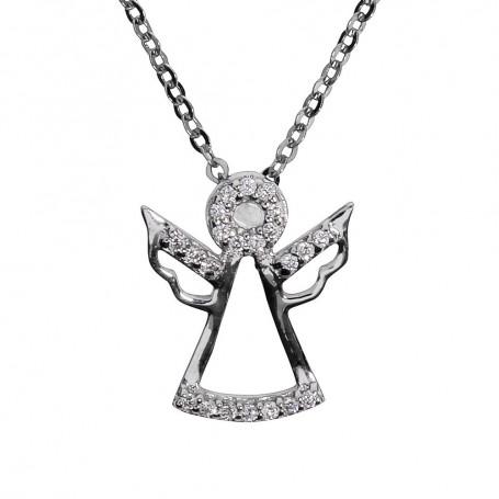 Ängel, änglar halsband SIÄ17  Halsband 36cm till 50cm 799,00kr