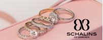 Schalins ringar förlovningsringar och vigselringar på nätet | Dala Guldsmide