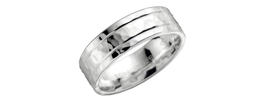 Mönstrade ringar i silver