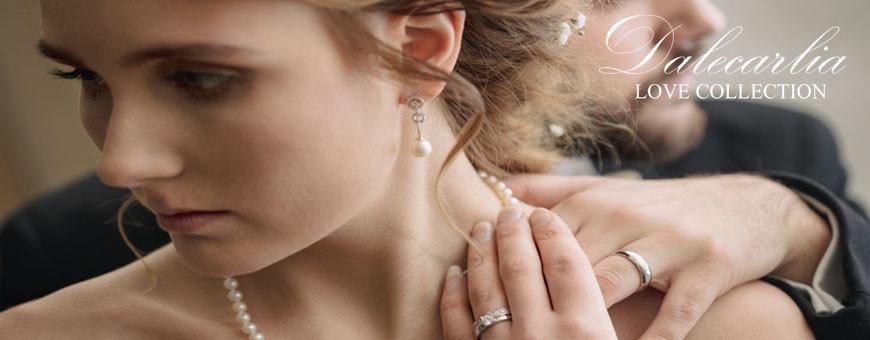 Förlovningsringar och vigselringar i silver, guld, vitguld och platina | Dala Guldsmide