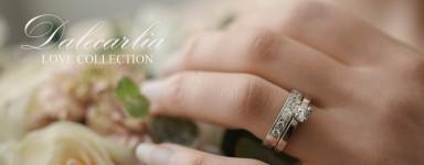 Dalecarlia Love Collection, förlovningsringar och vigselringar från egen guldsmedsateljé i Dalarna Dala Guldsmide Rättvik