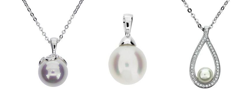 Smycken med pärla