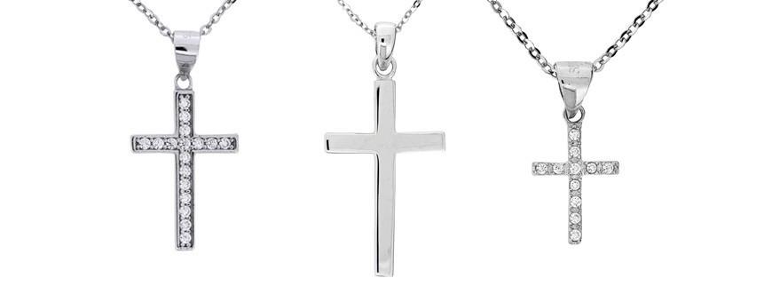 Halsband med kors | Dala Guldsmide