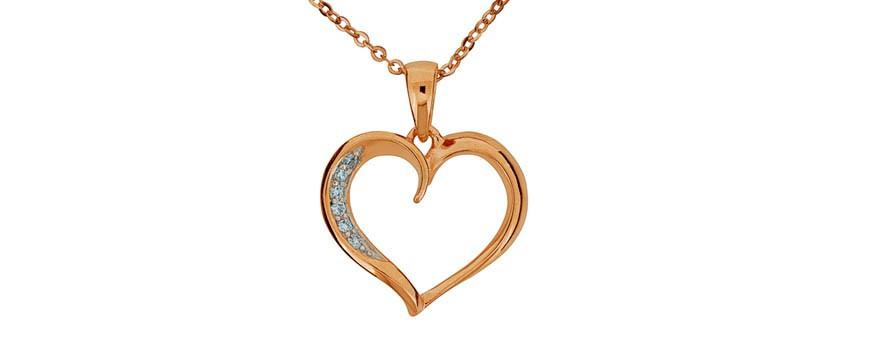 Rosésmycken Colling Jewellery