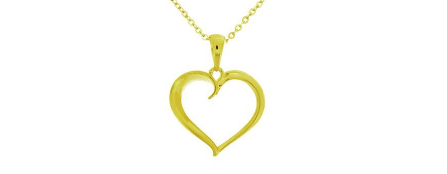 Guldpläterade halsband och smycken från Colling Jewellery