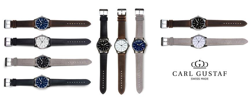 Carl Gustaf klocka armbandsur automat | Dala Guldmide