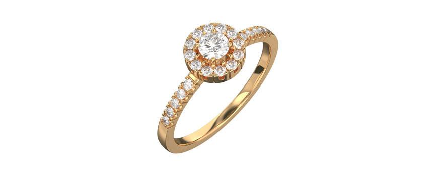 Labbodlade diamanter, labbdiamanter i förlovningsringar och vigselringar