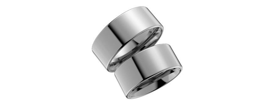 Titanringar förlovningsringar och vigselringar | Dala Guldsmide